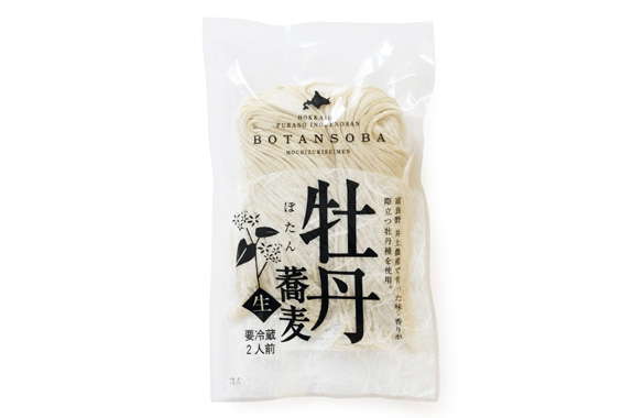 富良野産牡丹蕎麦 2人前(なま)